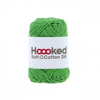 Hoooked SOFT COTTON DK シンガポール・グリーン(SINGAPORE GREEN)