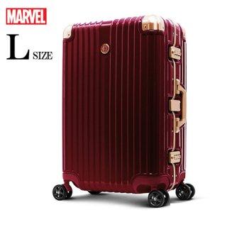 マーベル【MARVEL】 アイアンマン【IRONMAN】DESENO スーツケース アルミフレーム Lサイズ