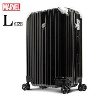 マーベル【MARVEL】 ブラックパンサー【BLACKPANTHER】 DESENO スーツケース ジッパー Lサイズ