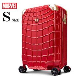 マーベル【MARVEL】スパイダーマン【SPIDERMAN】 DESENO スーツケース ジッパー 赤  Sサイズ