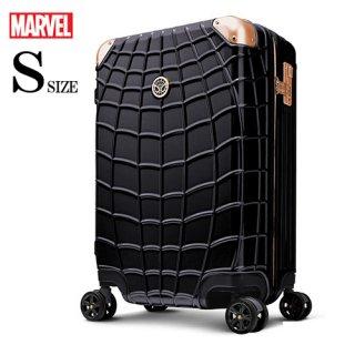 マーベル【MARVEL】スパイダーマン【SPIDERMAN】 DESENO スーツケース ジッパー 黒  Sサイズ
