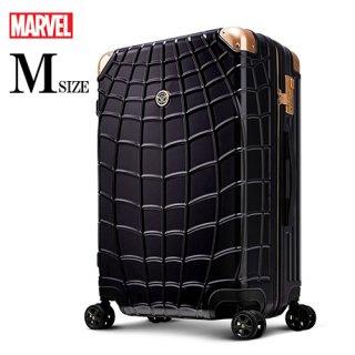 マーベル【MARVEL】スパイダーマン【SPIDERMAN】DESENO  スーツケース ジッパー 黒  Mサイズ