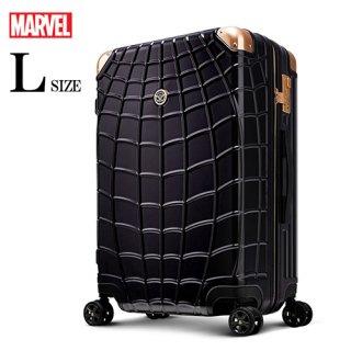 マーベル【MARVEL】スパイダーマン【SPIDERMAN】DESENO  スーツケース ジッパー 黒  Lサイズ