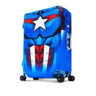 マーベル【MARVEL】 キャプテンアメリカ【CAPTAINAMERICA】DESENO  スーツケースカバー Lサイズ