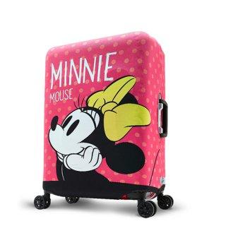 ディズニー【DISNEY】 ミニー【MINNIE】DESENO  スーツケースカバー Mサイズ