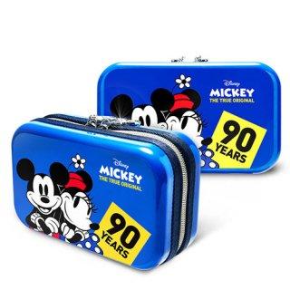 ディズニー【DISNEY】 ミッキー【MICKEY】DESENO  トラベルポーチ スウィートブルー