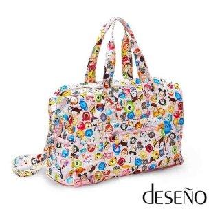 ディズニー【DISNEY】 ディズニーツムツム【TSUMTSUM】 DESENO 折りたたみバッグ