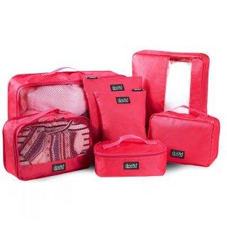 DESENO 収納袋7点セット ピンク