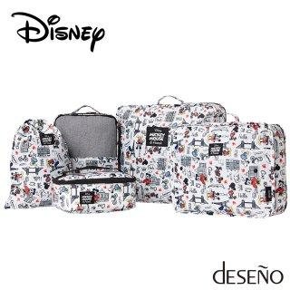 ディズニー 【DISNEY】 ミッキー 【MICKEY】 DESENO 収納袋5点セット
