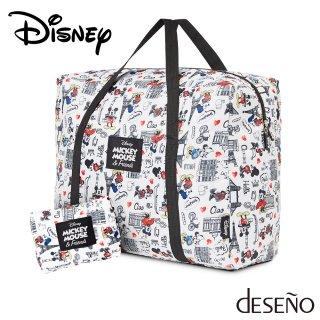 ディズニー 【DISNEY】 ミッキー 【MICKEY】 DESENO 折りたたみボストンバッグ