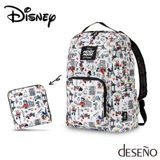 ディズニー 【DISNEY】 ミッキー 【MICKEY】 DESENO 折りたたみバックパック