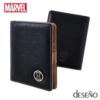 マーベル 【MARVEL】 ブラック・ウィドウ 【BLACK WIDOW】 DESENO パスポートケース