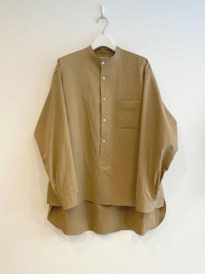 <RAKINES> メティスツイルプルオーバーシャツ