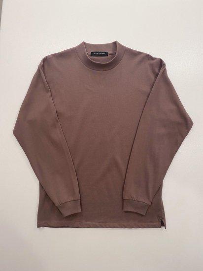 ELEVEN EIGHT モックネックロングスリーブTシャツ