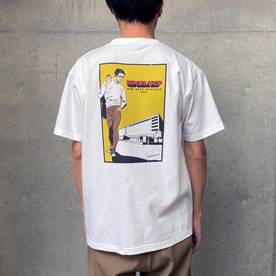 <SELCRAIG> LIMITED EDITION ARTIST RYO INOUE H/S SHIRT/シャツ