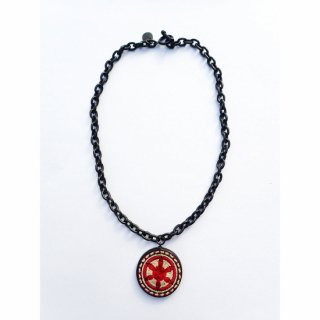 GARA CHAIN SIN NECKLACE RED<img class='new_mark_img2' src='https://img.shop-pro.jp/img/new/icons14.gif' style='border:none;display:inline;margin:0px;padding:0px;width:auto;' />