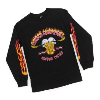 Frisco Choppers Long Sleeve(Black with Yellow)