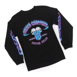 Frisco Choppers Long Sleeve(Black with Blue)