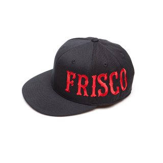 Large Frisco Flat Bill(Black)