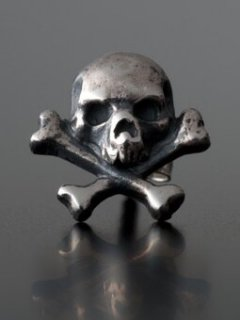 CROSS BONE EARRING