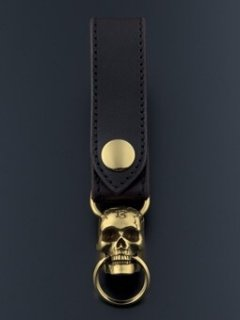 MOVABLEJAW SKULL KEY RING
