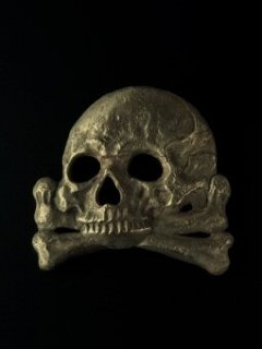 10'S BUCKLE / ANTIQUE GOLD