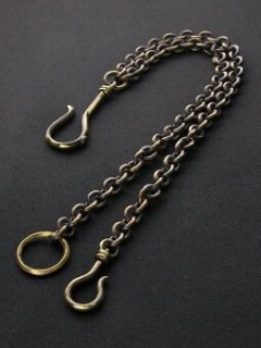 DUAL std. CHAIN / ANTIQUE GOLD