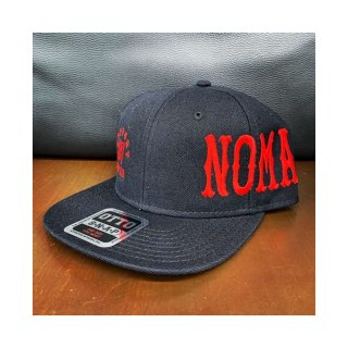 SUPPORT 81 NOMADS JAPAN Snap back hat (Font) Black