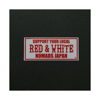 NOMADS JAPAN SUPPORT STICKER (Standard Size)