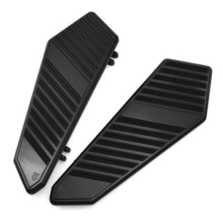 loor boards | BLACK ANODIZED | 1986~ Touring Softail FL Trike models | CAA01C