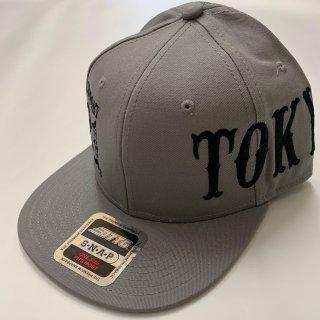 81TOKYO CAP GRAY×BLACK