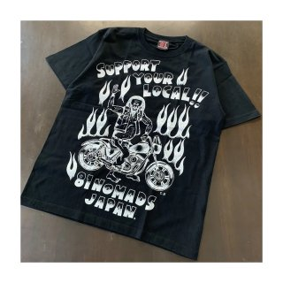 SUPPORT 81 SCUM BOY Tee Black