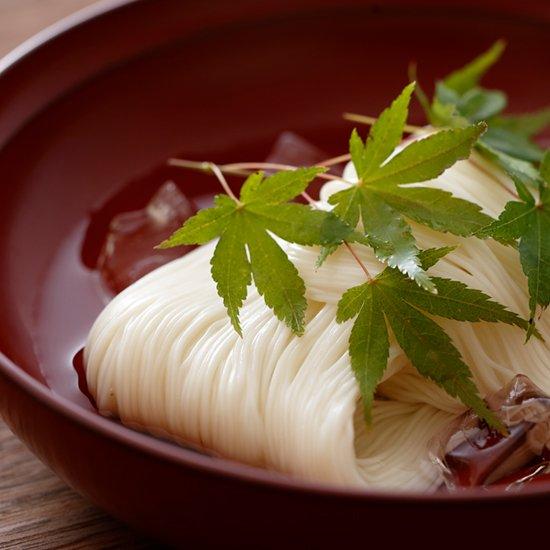 三輪 素麺 茹で 時間