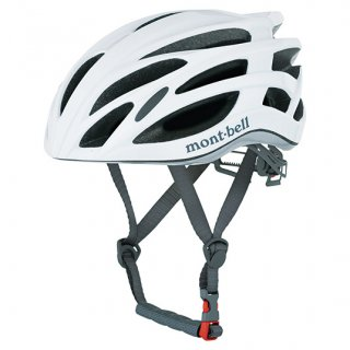 mont-bell サイクルヘルメット ホワイト