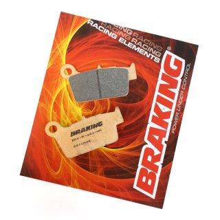 BRAKING ブレーキパッド CM46 リア YZ125/250, YZ125/250X, YZ250/450FX, YZ250/450FX, WR250R/X用