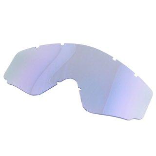 SWANS MX-RUSH用ミラーレンズ フラッシュブルーミラー
