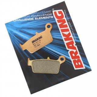 BRAKING ブレーキパッド CM44 リア KX125/250, KLX250R/SR/ES/D-TRACKER, KLX250/D-TRACKER X 用