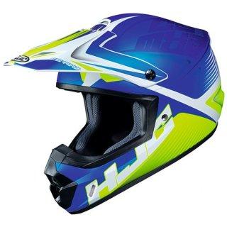 HJC CS-MX2 ヘルメット エリューション/MC3(ブルーイエロー)