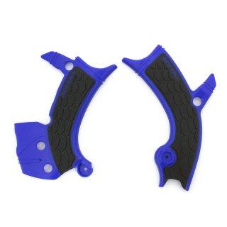 ACERBIS X-GRIP フレームプロテクター ブルーブラック / YZF250(19-20), YZF450(18-20), WR450F(19-20) 用