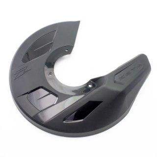 ZETA フロントディスクガード&マウンティングキット ブラック HONDA CR/CRF用