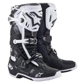 【現金特価】ALPINESTARS '21~ TECH10ブーツ ブラックホワイト