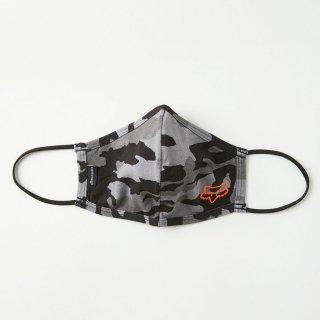 【4/16再入荷】 FOX フェイスマスク 大人用/ブラックカモ