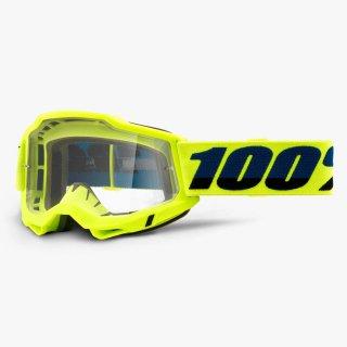 100% ACCURI2 OTGゴーグル フローイエロー