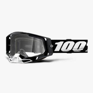 100% RACECRAFT2ゴーグル ブラック