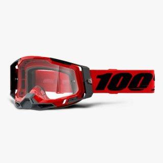 100% RACECRAFT2ゴーグル レッド