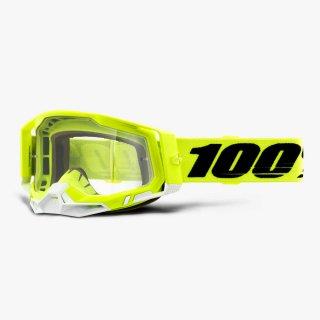 100% RACECRAFT2ゴーグル イエロー