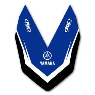 ファクトリーFX フロントフェンダーデカール YAMAHA YZ250F 19-20, YZ450F 18-20用