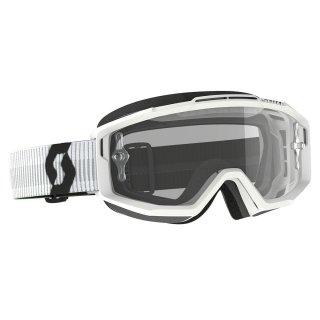 SCOTT スプリットOTGゴーグル(眼鏡用) ホワイト/クリアレンズ