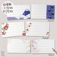 名乃花の和柄名刺サイズのカード 3