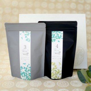八女美茶 2種詰合せ 箱入<br>デトックスブレンド<br>冴えるカラダブレンド<br>ティーバッグ (2g×18個)2袋